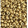 Seedbead Metallic Gold 2/0